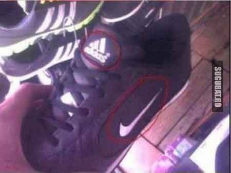 O treaba aveai de facut: Adidas vs Nike