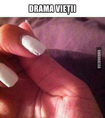 Drama vietii...femeile stiu de ce