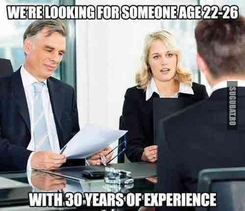 Angajatorii din ziua de azi: Cautam pe cineva la 22-26 de ani