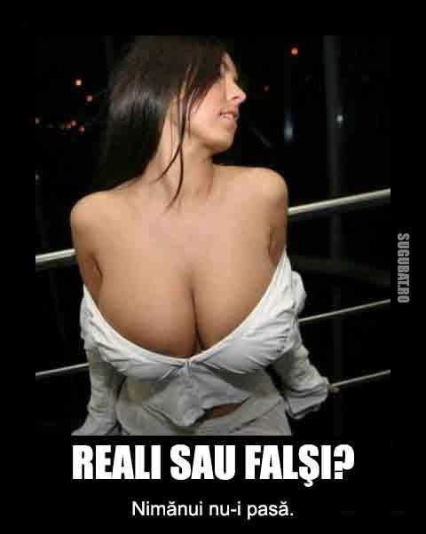 Reali sau Falsi? Nimanui nu-i pasa