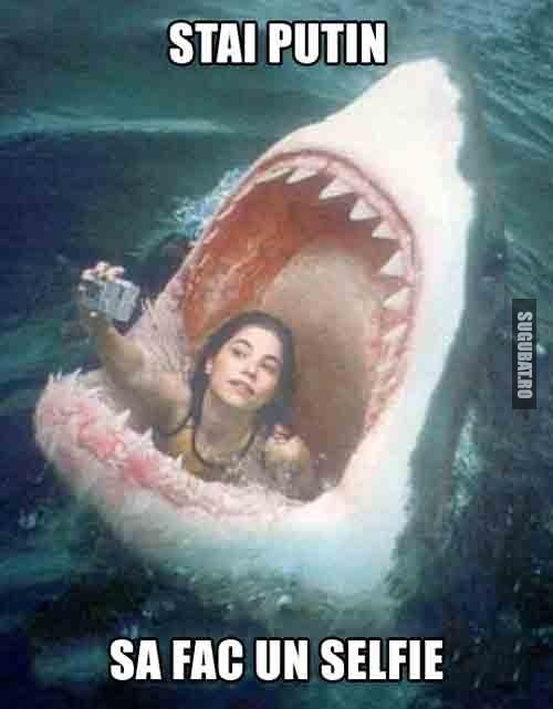 Stai putin sa fac un selfie