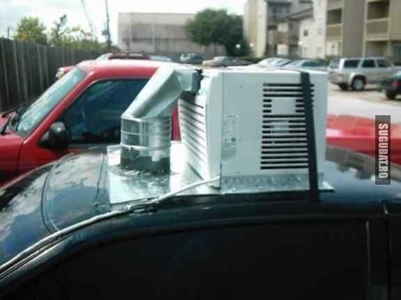 E si asta o solutie cand ti se strica aerul conditionat in masina