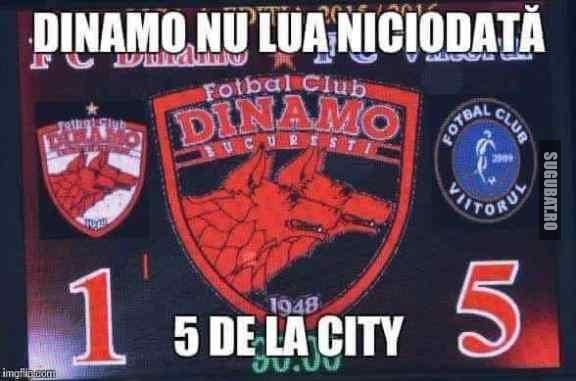 Dinamo de la City niciodata!!