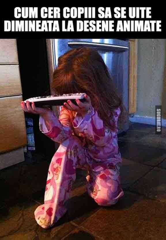 Ai facut si tu asta in copilarie?