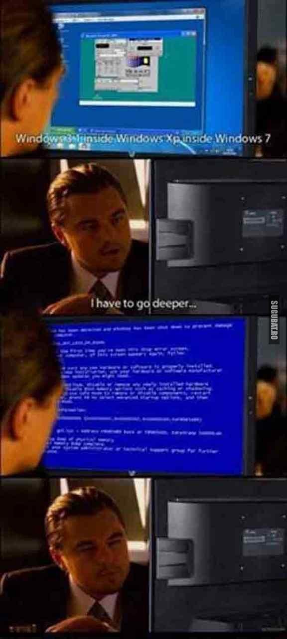 Leonardo DiCaprio vs. Windows