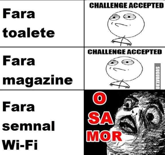 Tu poti rezista fara Wi-FI?