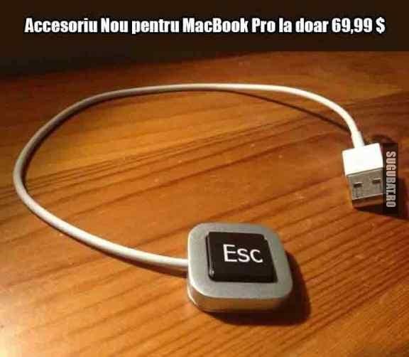 Accesoriu nou pentru MacBook Pro