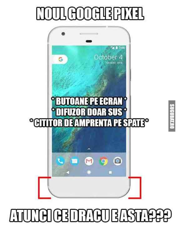 Noul telefon Google Pixel