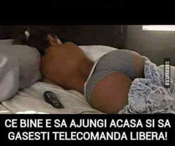 Sa gasesti telecomanda libera:)