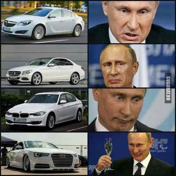 Stie Putin ce stie :)