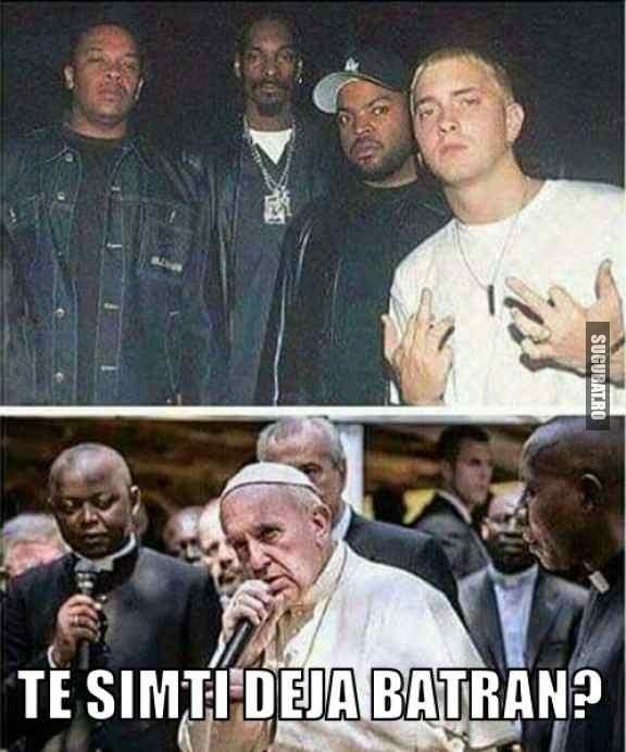 Te simti deja batran cand il vezi pe Eminem cu gasca  - atunci si acum