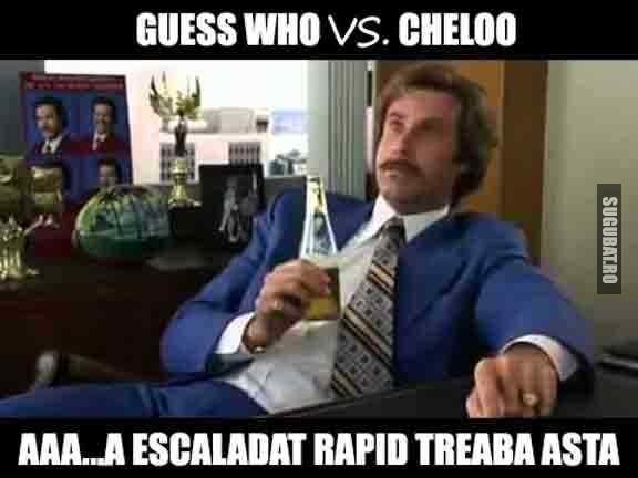 Treaba asta cu Guess Who vs. Cheloo escaladeaza rapid