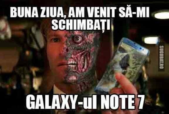 Va rog sa imi schimbati acest Galaxy Note 7