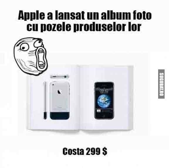 Apple a lansat un album foto