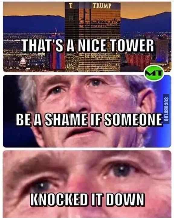 Ar fi pacat daca cineva ar darama si turnul asta