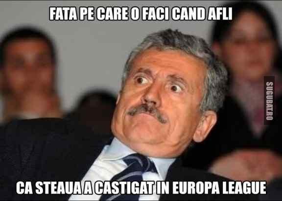 Cand afli ca Steaua a castigat in Europa League
