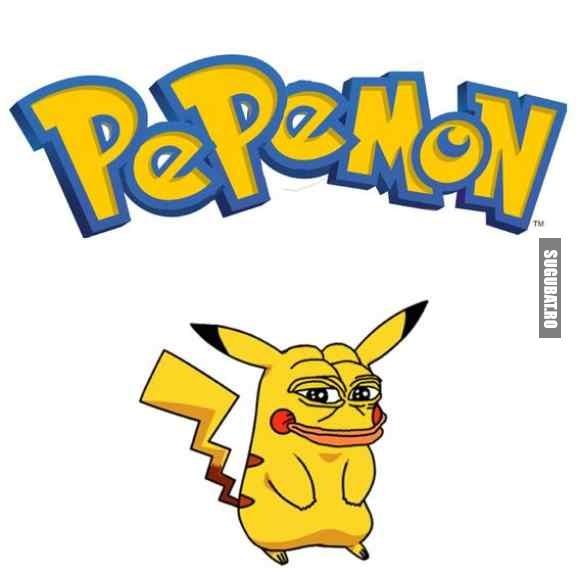 Pokemon, varianta amuzanta (Pepemon)