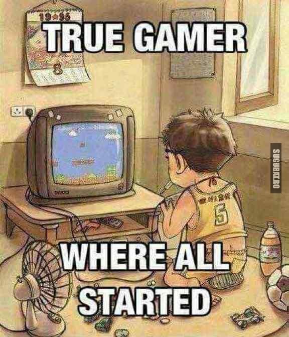 Toti gamerii de azi au inceput de aici :)