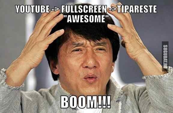 Truc de facut pe YouTube (Awesome)