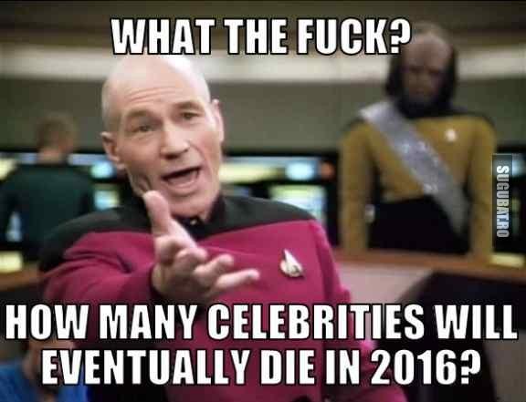 Cate vedete vor mai muri in 2016?
