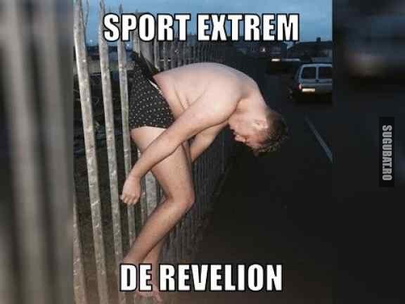 Sport extrem de revelion