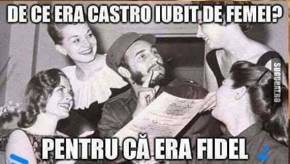 De ce era Castro iubit de femei?