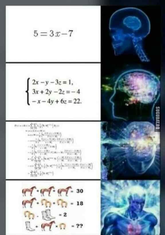 Cand esti bun la matematica