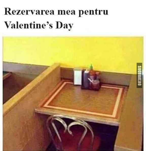 Rezervarea mea pentru Valentine's Day #ValentinesDay