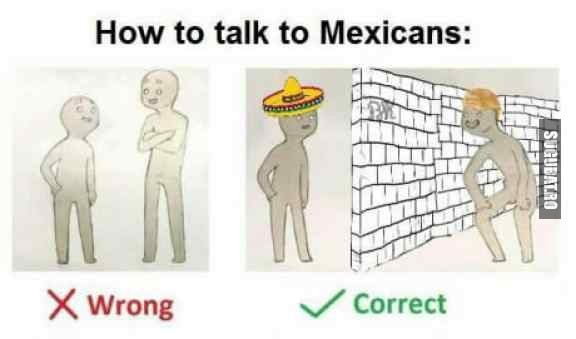 Cum sa vorbesti cu mexicanii