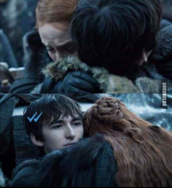 Bran Stark  e savage rau de tot #GameOfThrones