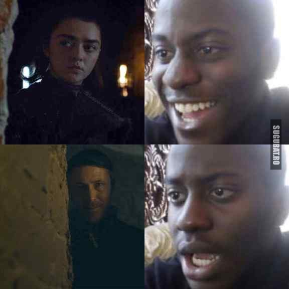 Cand crezi ca in sfarsit cineva il prinde pe Petyr Baelish #GameOfThrones