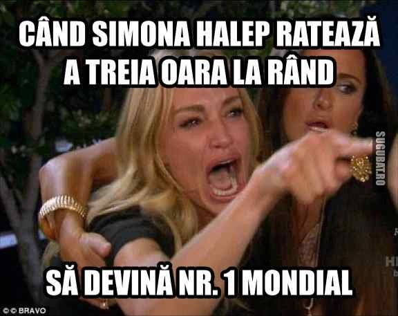 Cand Simona Halep rateaza sa devina nr. 1