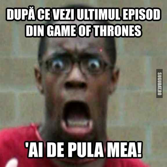 Dupa ce vezi ultimul episod din Game of Thrones