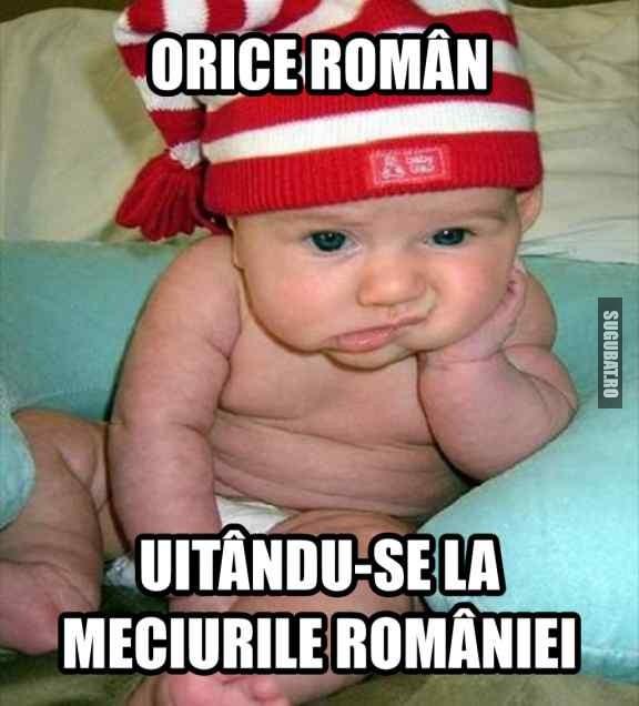 Orice roman uitandu-se la meciurile Romaniei
