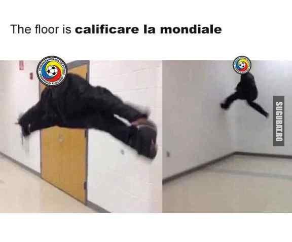 The floor is calificare la mondiale