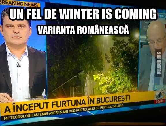 Winter Is Coming de Romania 😅