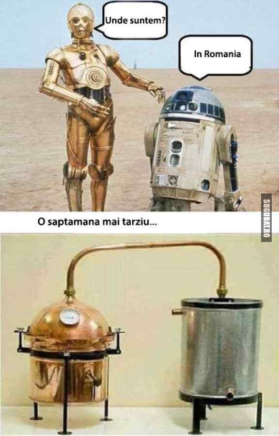 Star Wars aterizeaza in Romania