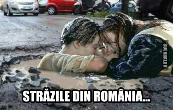 Titanic...pe strazile din Romania 🛳