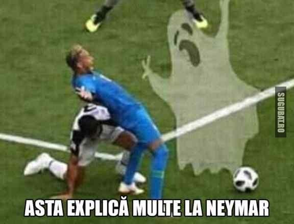 Neymar si fantomele din careu ⚽ #WorldCup