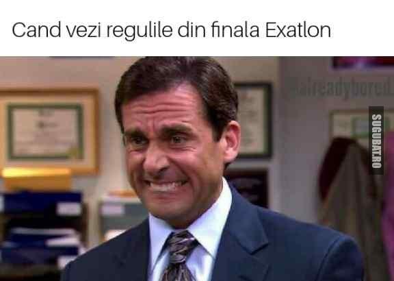 Cand vezi regulile din finala Exatlon Romania