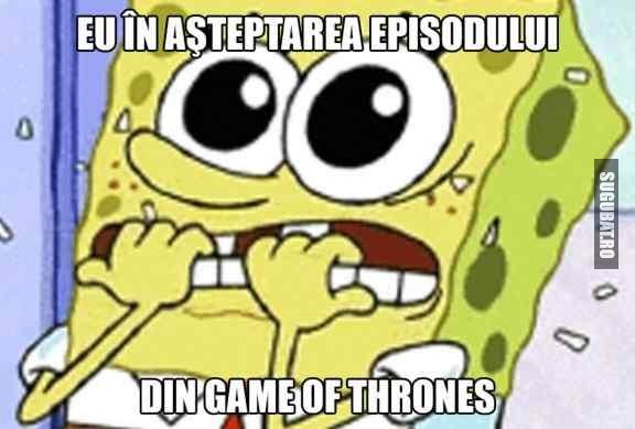 Cum astept sezonul din Game Of Thrones