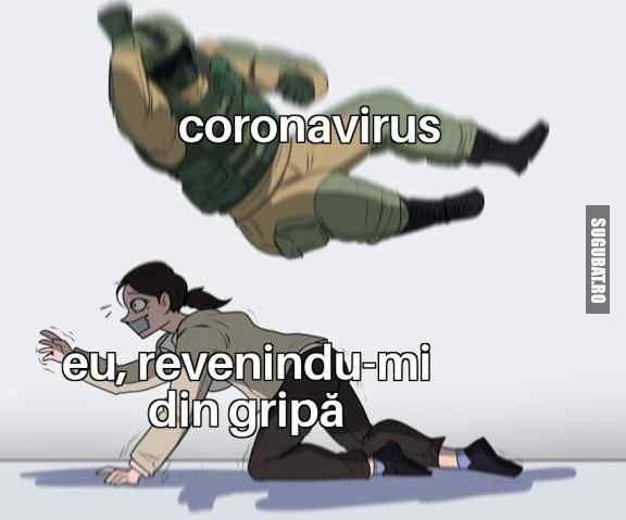 Când abia scapi de gripă #coronavirus