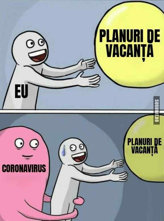 Planurile mele de vacanță s-au dus #coronavirus