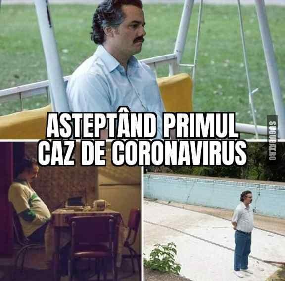 Toată lumea așteaptă #coronavirus