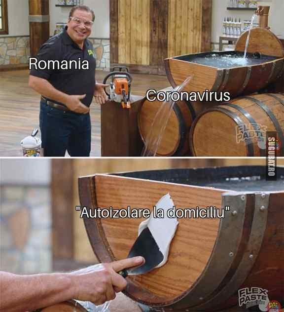 România și autoizolarea la domiciliu #coronavirus