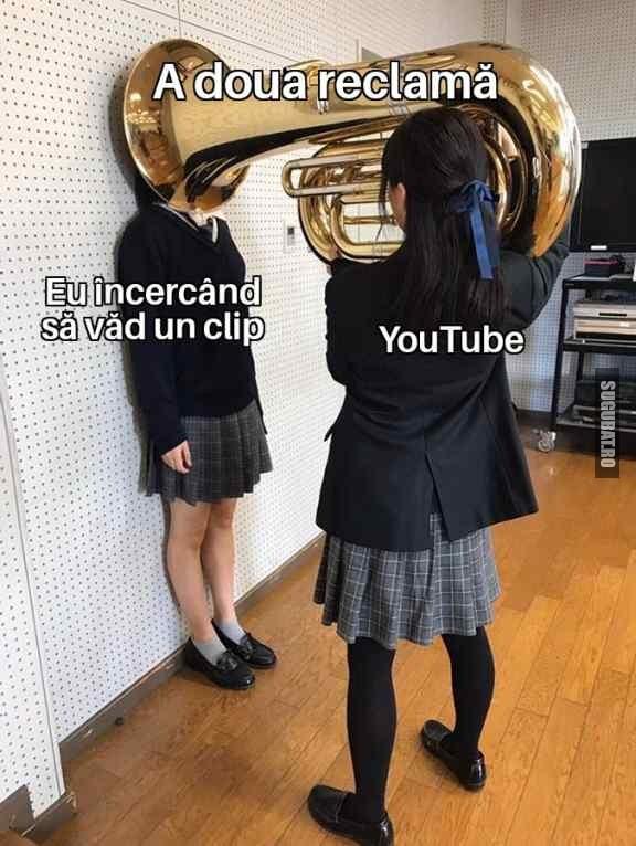YouTube zilele astea