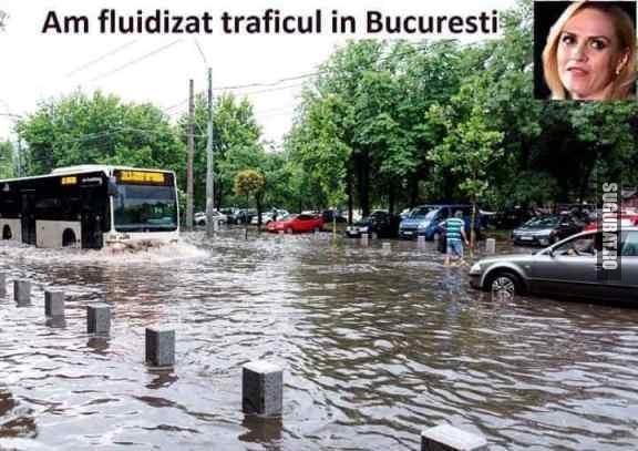 Doar asa se fluidizeaza traficul in Bucuresti