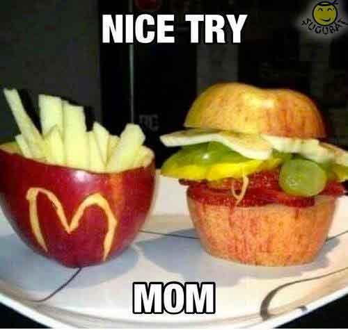 Buna incercare mama cu McDonalds