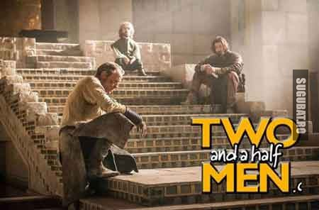 Two and a half men - Versiunea Game of Thrones