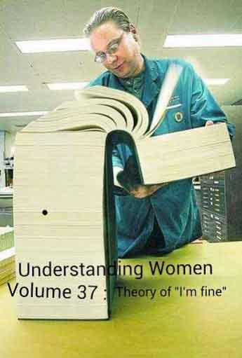 Intelege femeile: Volumul 37, teoria Sunt bine!